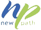 New Path Youth and Family Services logo